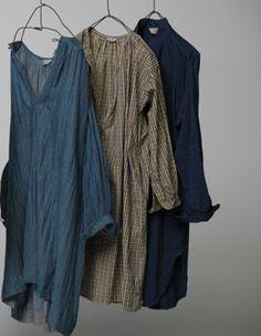 Smock / tunic / shirt dress | 45' AI INDIGO