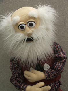Grandpa Jake by PJs Puppets