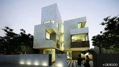 Inder House / Chennai / Abiboo Architects Via archisearch.gr