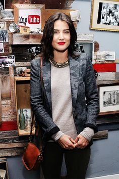 Cobie Smulders ((born April 3, 1982) is a Canadian actress and model. She is best known for her roles as Robin Scherbatsky on the television series How I Met Your Mother (2005–2014) and Maria Hill in the Marvel Cinematic Universe.