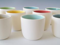 Simple, but beautiful.  Wishing we threw porcelain at Powderhorn.  (Paulova from etsy.com)