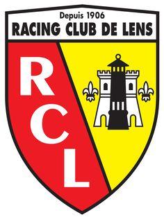 RC Lens of France crest. Jean Pierre Papin, Logo Sport, Soccer Logo, Soccer Teams, Fifa Football, Racing Club De Lens, Rc Lens, Lens Logo, Fc Bayern Munich
