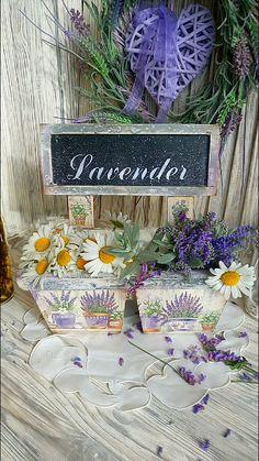"""Купить """"Lavender"""" Кашпо. - кашпо, кашпо для цветов, кашпо для трав, лаванда, лавандовый, прованские травы"""