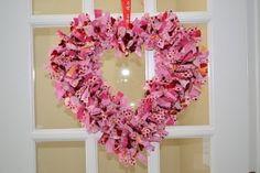 Valentine Wreath by lynne