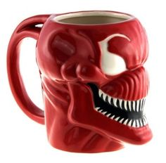 Officially Licensed Marvel Superhero Molded Mugs Thor Spiderman Carnage Venom Carnage *** To view further for this item, visit the image link. Marvel Venom, Marvel Comics, Cletus Kasady, Cool Mugs, Christmas Gift Guide, Ceramic Mugs, Thor, Coffee Cups, Kitchen Dining