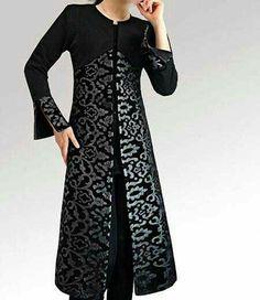 hippie style 607845280943217560 - Plus size Long Sleeve Outerwear in 2020 Batik Fashion, Abaya Fashion, Moda Fashion, Muslim Fashion, Fashion Dresses, Couture Fashion, Iranian Women Fashion, Indian Fashion, Indian Designer Outfits