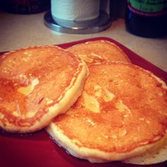 Formidables, meilleurs pancakes au monde! :) Rien de moins! De Martha's American Food #marthachallenge