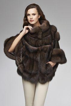 Russian Barguzin Sable Fur and Cashmere Jacket Couture Coats, Sable Coat, 18th Century Dress, Winter Fur Coats, Fur Clothing, Fabulous Furs, Fur Fashion, Style Fashion, African Women