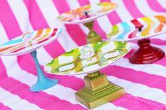 Step by step Photo tutorial - Bildanleitung - Eu Amo Artesanato: Suporte de cupcakes