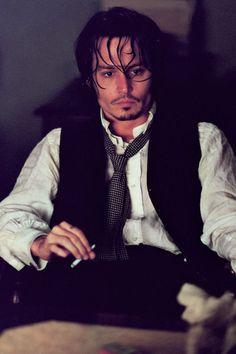 Johnny Depp from the Victorian era movie, From Hell Johnny Movie, Here's Johnny, Johnny Depp Movies, Jonny Deep, Young Johnny Depp, Victorian Men, Captain Jack Sparrow, Fine Men, Man Photo