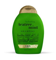 OGX  Shampoo, Hydrating TeaTree Mint, 13oz ** Want additional info? Click on the image.