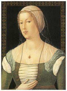 Girolamo Di Benvenuto, 1508,  Portrait of a Young Woman, National Gallery of Art