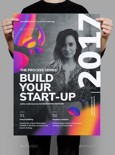 Build Your Startup Business Poster — Photoshop PSD #bold #programming • Download ➝ https://graphicriver.net/item/build-your-startup-business-poster/20379872?ref=pxcr