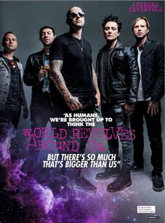 Avenged Sevenfold so true . Music Love, Rock Music, My Music, Avenged Sevenfold Wallpapers, M Shadows, Jimmy The Rev Sullivan, Zacky Vengeance, Synyster Gates, Escape The Fate