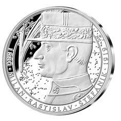 100. výročie ČSR- Štefánik - strieborná medaile Plates, Personalized Items, Tableware, Licence Plates, Dishes, Dinnerware, Griddles, Tablewares, Dish