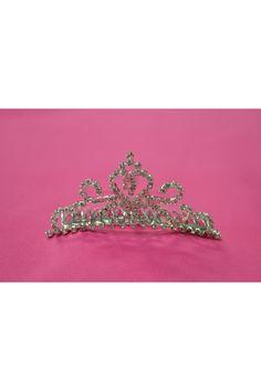 Rhinestone Small Tiara Comb - F Birthday Dresses, Crown, Jewelry, Fashion, Moda, Corona, Jewlery, Bijoux, Fashion Styles