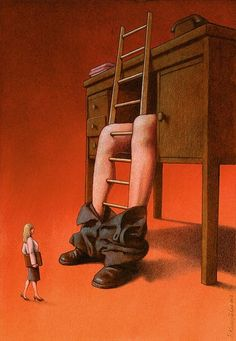 Pawel Kuczynski artwork - can you guess the story behind it?