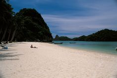 An almost deserted beach to yourself, what more could you ask for! #thailand #travel #asia