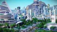 The Sims, Sims 3, Futuristic City, Futuristic Technology, Futuristic Architecture, Sci Fi Wallpaper, Mundo Dos Games, Technology World, Technology Design