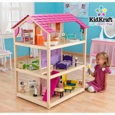 Kidkraft Maison de poupées So Chic + 50 pièces - Achat / Vente poupée - Soldes* d'été Cdiscount