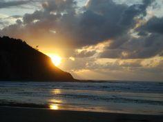 Playa de Cueva - Atardecer nublado