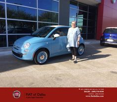 https://flic.kr/p/EsHvS3   Congratulations Robin on your #FIAT #500 from Jessica Rubio at Fiat of Dallas!   deliverymaxx.com/DealerReviews.aspx?DealerCode=F741