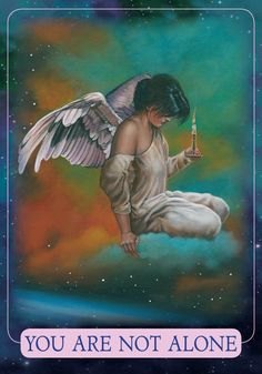 Oracle Card You Are Not Alone   Doreen Virtue - Official Angel Therapy Website