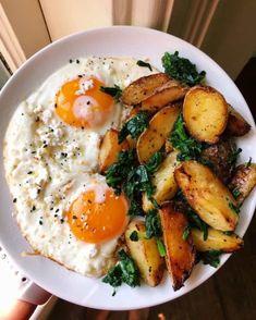 Healthy Breakfast Recipes, Healthy Snacks, Healthy Eating, Healthy Recipes, Diet Breakfast, Healthy Morning Breakfast, Tasty Healthy Meals, Healthy Menu, Healthy Protein