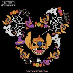 Halloween Wallpaper Iphone, Fall Wallpaper, Halloween Backgrounds, Disney Wallpaper, Halloween Stickers, Disney Halloween, Halloween Themes, Halloween Decorations, Cute Kawaii Animals