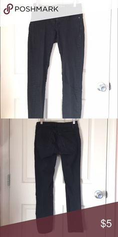 Old Navy black skinny jeans Old Navy black skinny jeans. Very stretchy. Very comfortable. Good condition. Selling because they no longer are part of my personal style. Comes from a pet-free, smoke-free home. Old Navy Pants Skinny