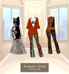 Guarda le mie creazioni con Fashion Star Designer!