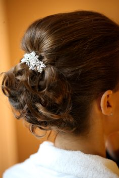Bride Hair #Bride #Enzoriccobenesalon #Lindariccobene #updo #hair #wedding
