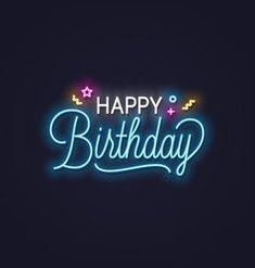 Birth Day QUOTATION – Image : Quotes about Birthday – Description Happy birthday neon text happy birthday Royalty Free Vector Sharing is Caring – Hey can you Share this Quote ! Text Happy Birthday, Happy Birthday Wishes Sister, Happy Birthday Typography, Birthday Wishes And Images, Birthday Wishes Messages, Happy Birthday Pictures, Happy Birthday Gifts, Happy Birthday Quotes, Happy Birthday Greetings