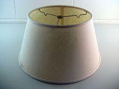 Vintage Lamp Shade Spider Reflector Linen Lamp Shade Artemis