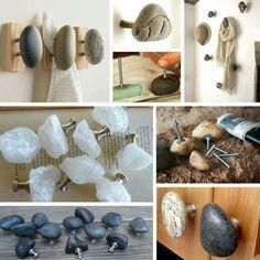 Pebble knobs