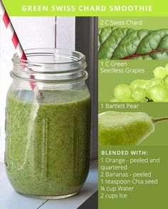 5 Green Smoothie Recipes for Glowing Skin