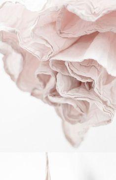 花的纹理 pastel pink ruffled flounce