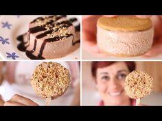 Gelato alla Nutella Ricetta Facile Senza Gelatiera - Nutella Ice Cream Easy…