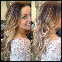 Beautiful balyage