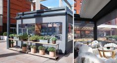 Terrazas para restaurantes de www.greendesign.es