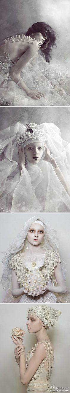 Modern Fairytale / Queen of Ice and Snow / karen cox.  white #snow queen