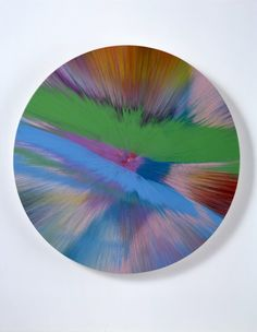 Damien Hirst, Beautiful Aurora Painting, 2007
