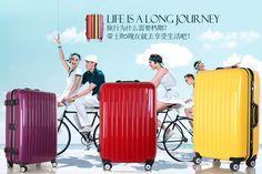 Moldura de alumínio Unisex rodas universais bagagem trole mala abs + pc bagageiro de viagem, 20 24 e 28 polegadas, com muitas cores-inHardside bagagem de Bagagem & Bags on Aliexpress.com | Alibaba Group
