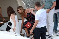 Pin for Later: Jennifer Aniston's Vacation Dress Will Remind You of Your First Maxi