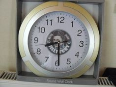 Clock with pic of Billy Fury in centre | eBay