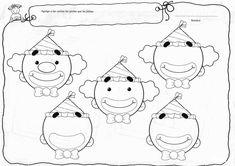 Menta Más Chocolate - RECURSOS y ACTIVIDADES PARA EDUCACIÓN INFANTIL: Actividades para trabajar las PARTES DE LA CARA