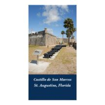 Castle of San Marcos St. Augustine, Fl. photo card