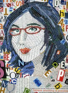 50 Amazing Typographic Portraits - Beautiful Text Art