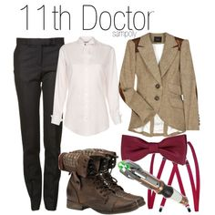 "[DOCTOR WHO] Get the look ! ""Eleven / 11th Doctor"" by sampoly on Polyvore"