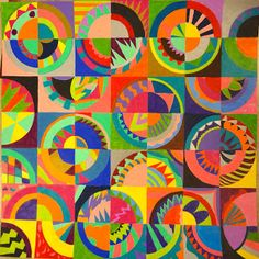Sharpies, paint, and paper! Oh my!: Ringgold Inspired Quilt Designs